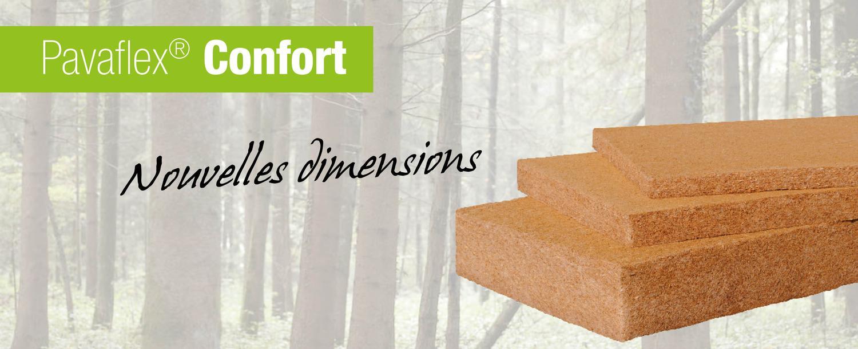 Pavaflex® Confort : nouvelles dimensions !