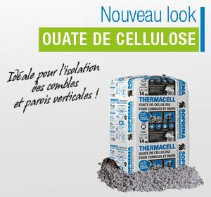 ThermaCell ouate de cellulose : nouveau look  !