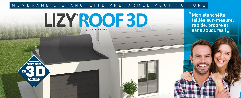 LIZY®ROOF 3D : faites votre étanchéité vous-même !