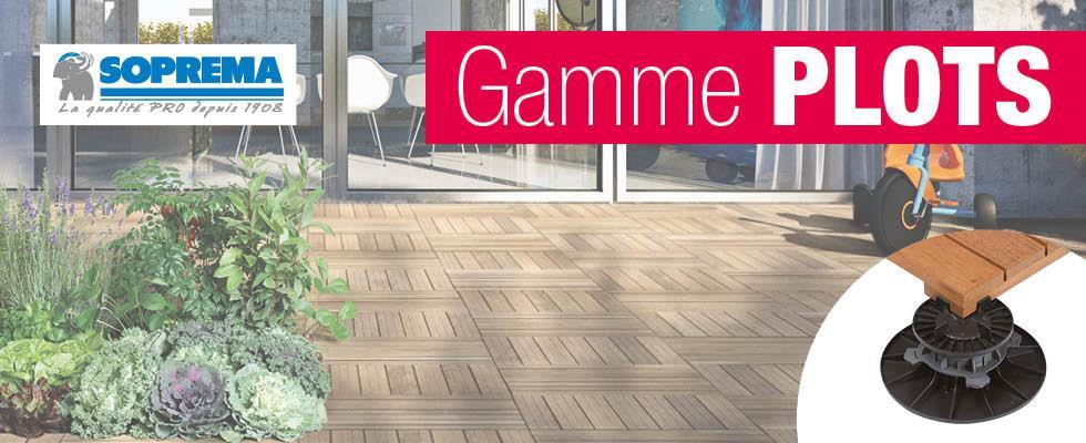 Aménager sa terrasse est un jeu d'enfants avec notre gamme PLOTS !
