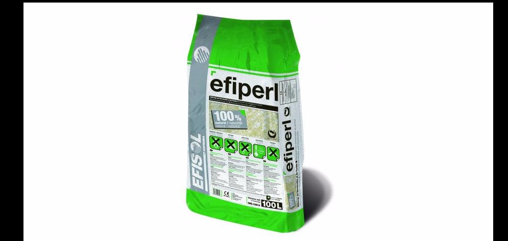 La PERLITE EFIPERL SOPREMA, roche expansée, un isolant minéral naturel et léger