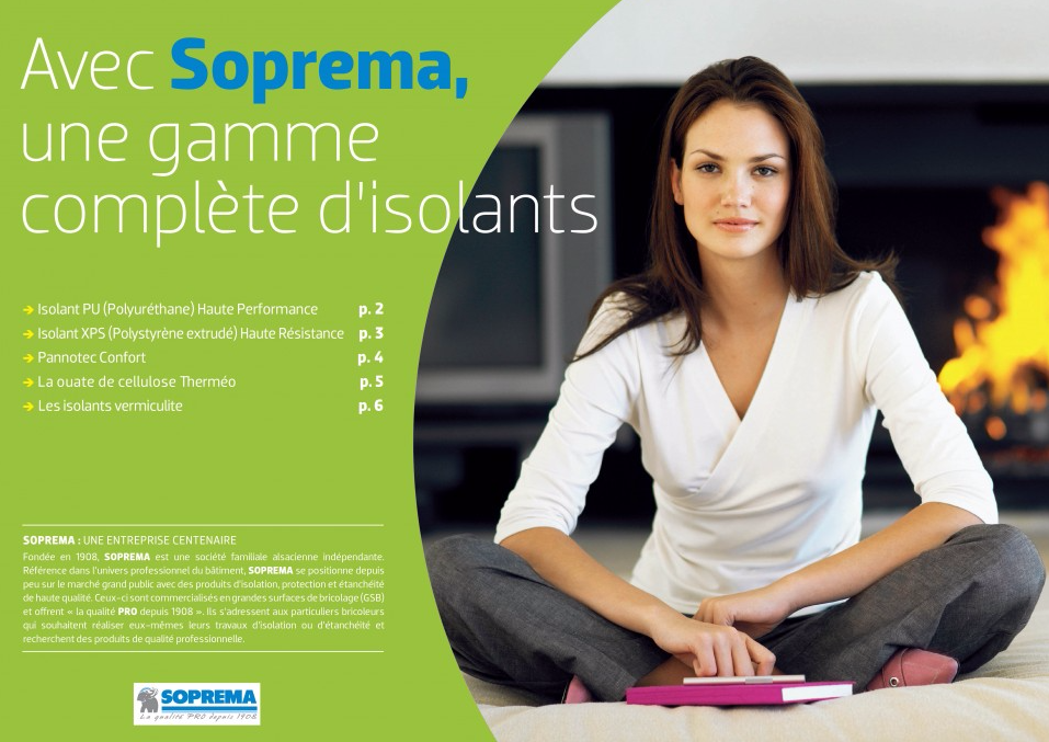 Avec SOPREMA, une gamme complète d'isolants